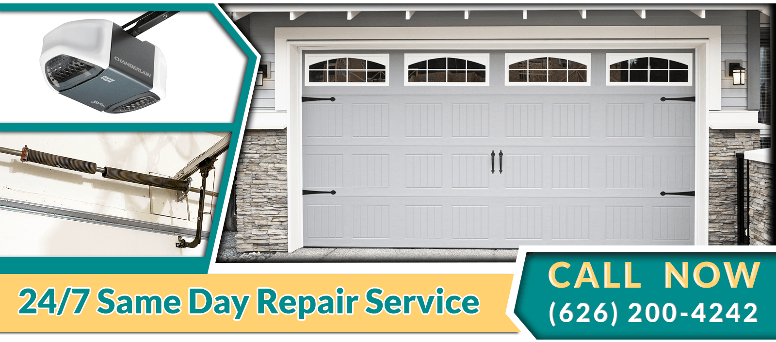 garage door repair pasadena ca same day service 626. Black Bedroom Furniture Sets. Home Design Ideas