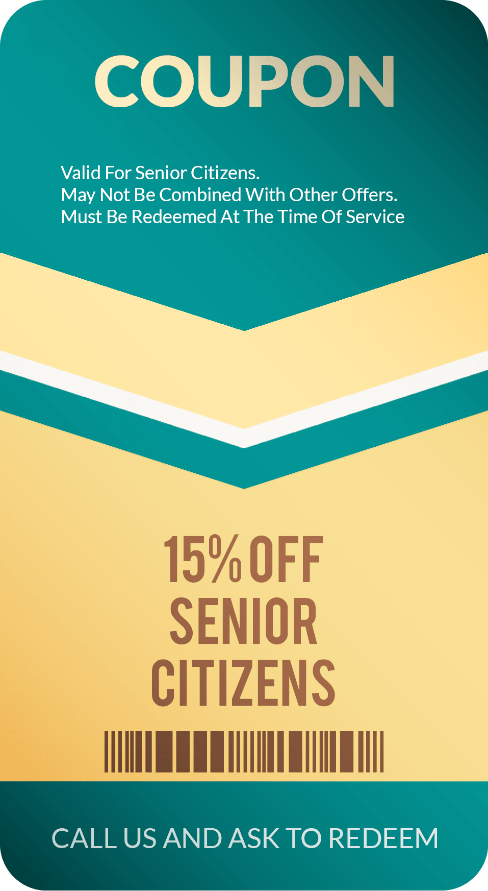 Senior Citizen Discount for Garage Door & Gate Service