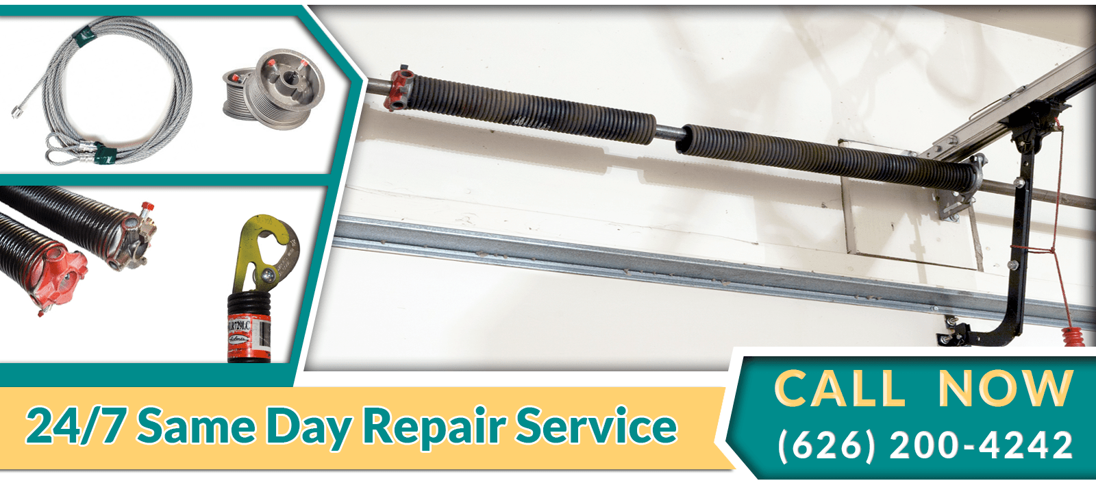 Garage door cable broke - Garage Door Spring Replacement
