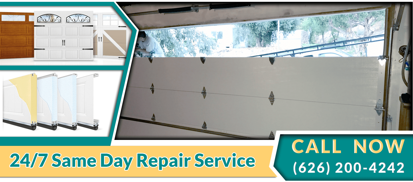 garage door new installation asap garage door repair